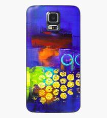 Trio - Blue Case/Skin for Samsung Galaxy