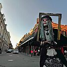 New Orleans Street Performer #2  by milton ginos