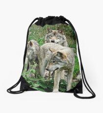 The Brat Pack Drawstring Bag