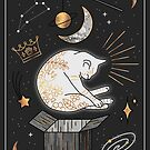 Ruler Of The Universe - Dreaming Cat by Elisabeth Fredriksson