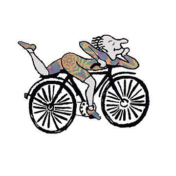 Bicycle Day 'Albert Hofmann' by closetanon
