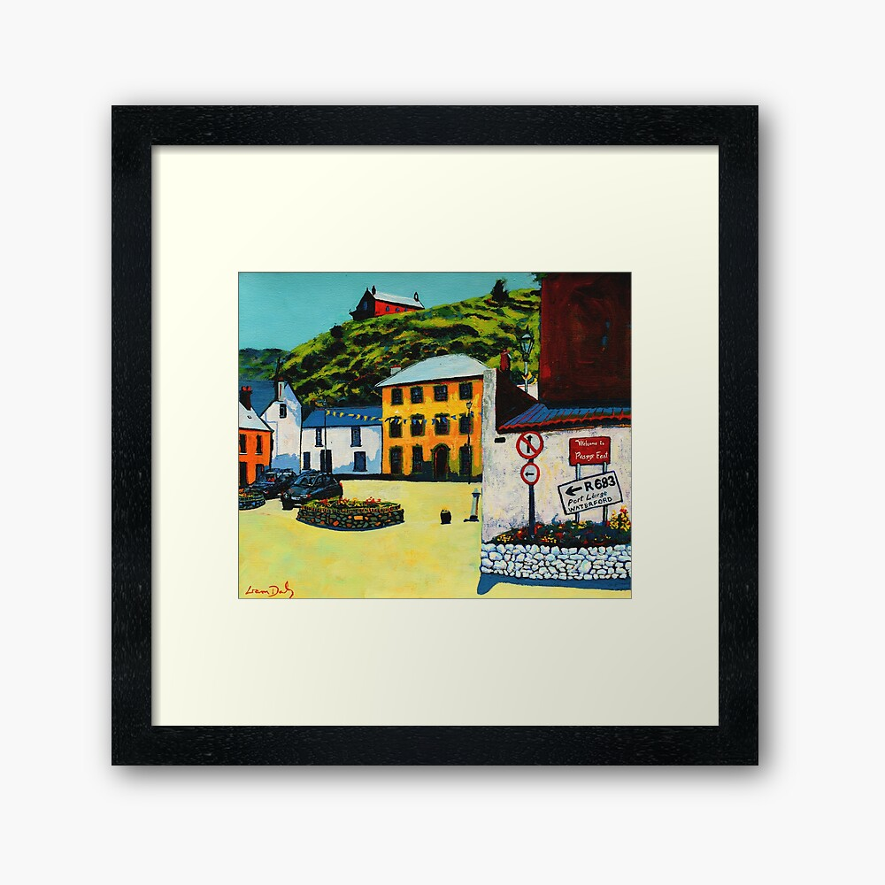 Passage East (County Waterford, Ireland) Framed Art Print