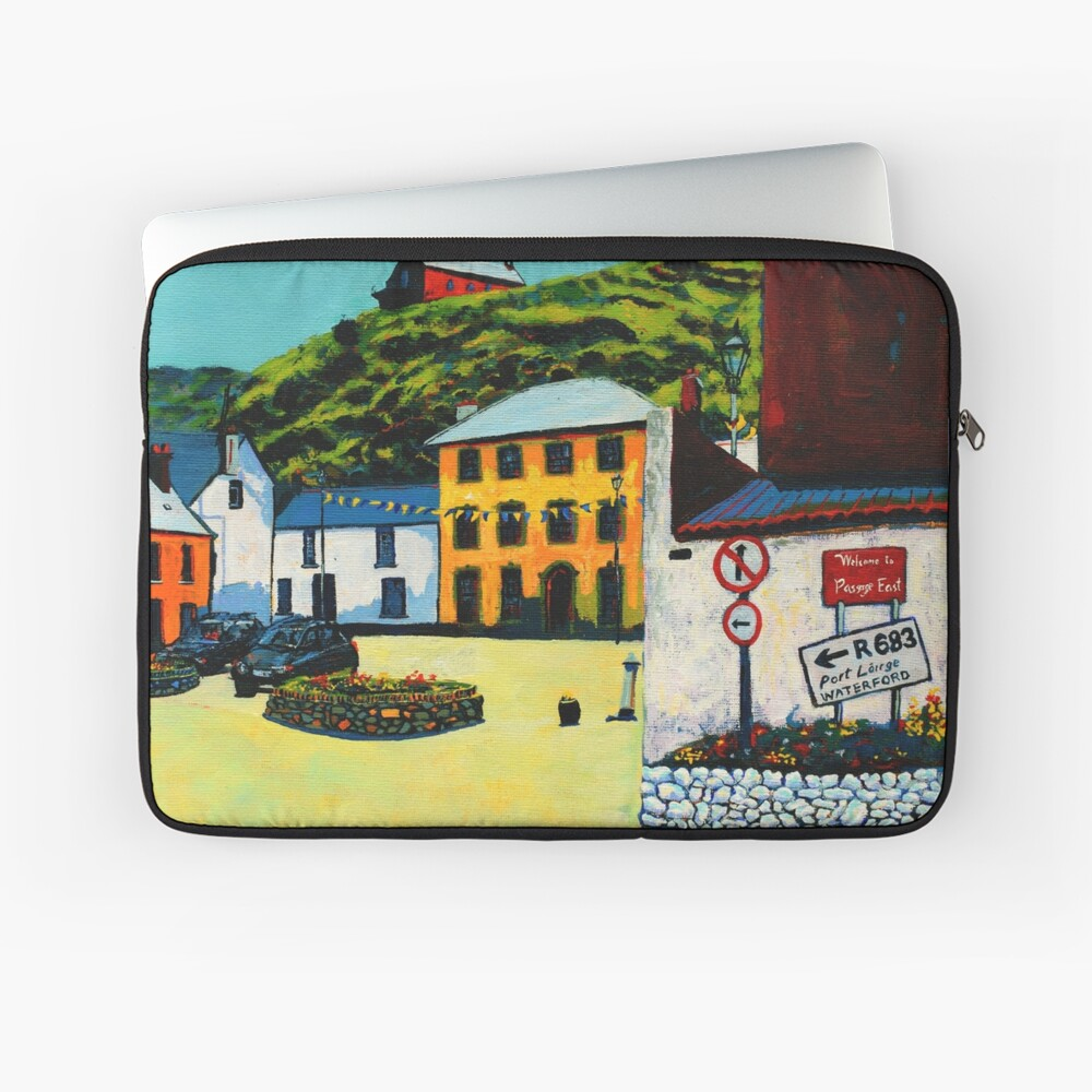 Passage East (County Waterford, Ireland) Laptop Sleeve
