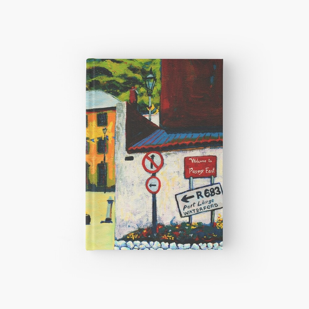 Passage East (County Waterford, Ireland) Hardcover Journal