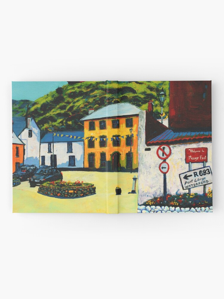Alternate view of Passage East (County Waterford, Ireland) Hardcover Journal