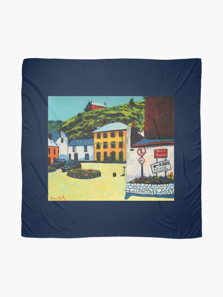 Alternate view of Passage East (County Waterford, Ireland) Scarf