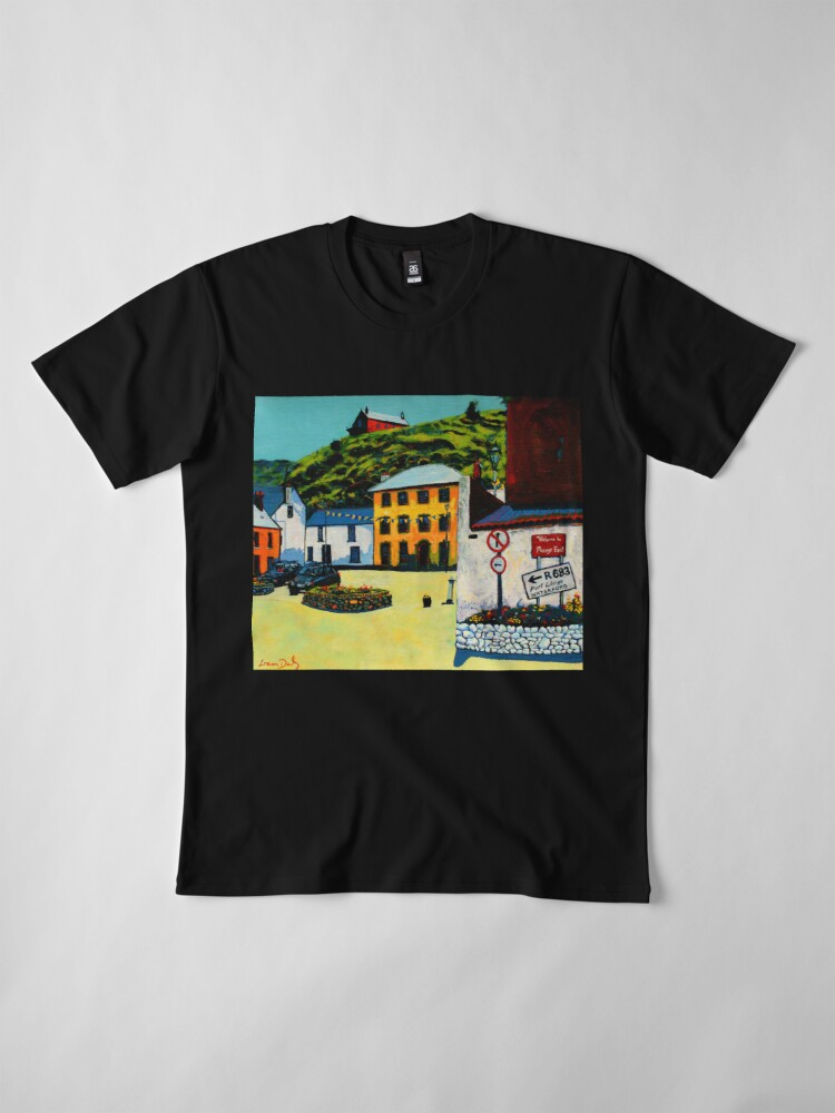 Alternate view of Passage East (County Waterford, Ireland) Premium T-Shirt