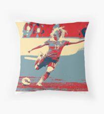 Julie Johnston  Throw Pillow