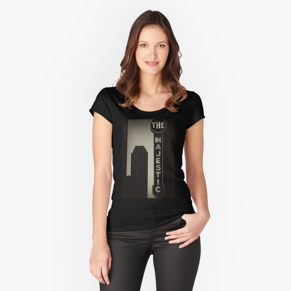 Majestic 1 Fitted Scoop T-Shirt
