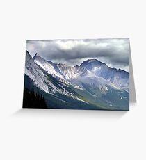 Rocky Mountain Peaks Greeting Card