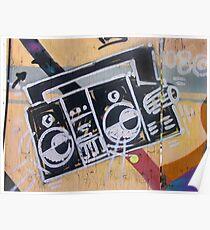 Boombox (graffiti) Poster
