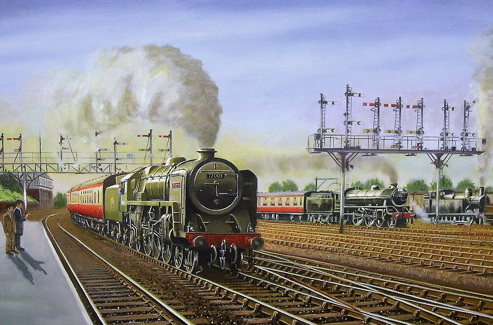 Summer Saturday at Preston. by Tom  Holland