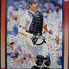 457 - Don Slaught by Foob's Baseball Cards