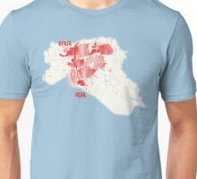 Syria-Iraq bleeding  Unisex T-Shirt