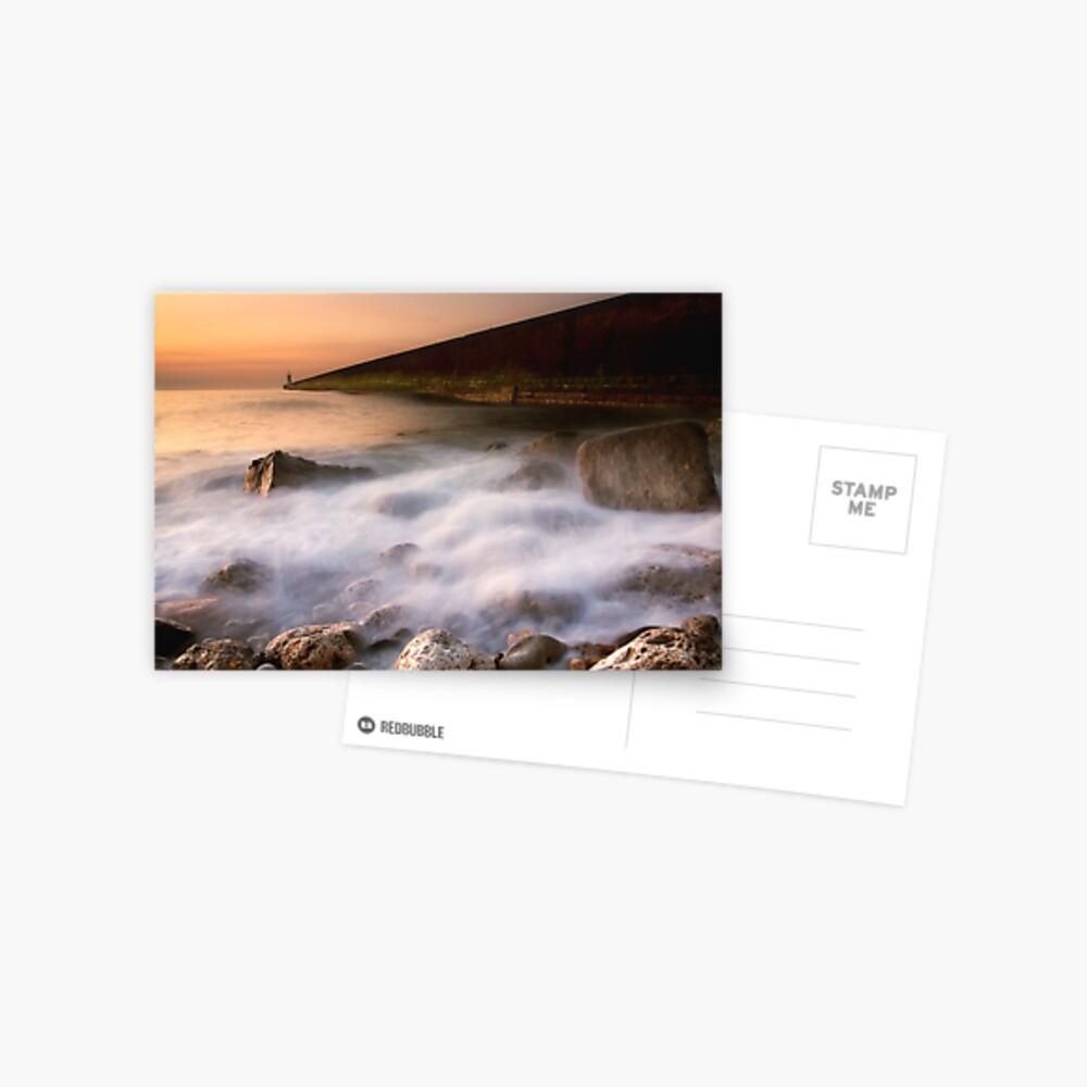 Tynemouth Pier Postcard