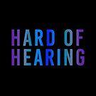 Hard of Hearing (Night Sky Blue) by alienfolklore