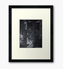 Mr. and Mrs. Holm Framed Print