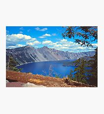 Clouds over Crater Lake 1979 Photographic Print