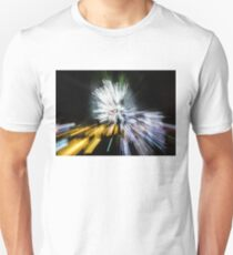 Abstract Christmas Lights - Burst of Colors Unisex T-Shirt