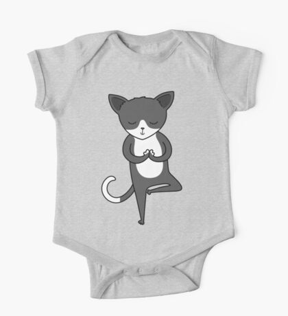 Yoga Cat Kids Clothes