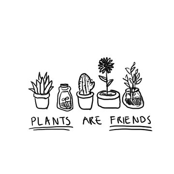 Plants Are Friends by purevirginity