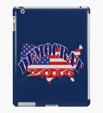 Democrat 2016 iPad Case/Skin