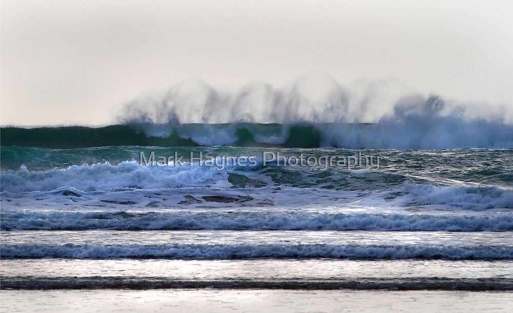 Offshore Lines - Freshwater West- Pembrokeshire National Park by Mark Haynes Photography