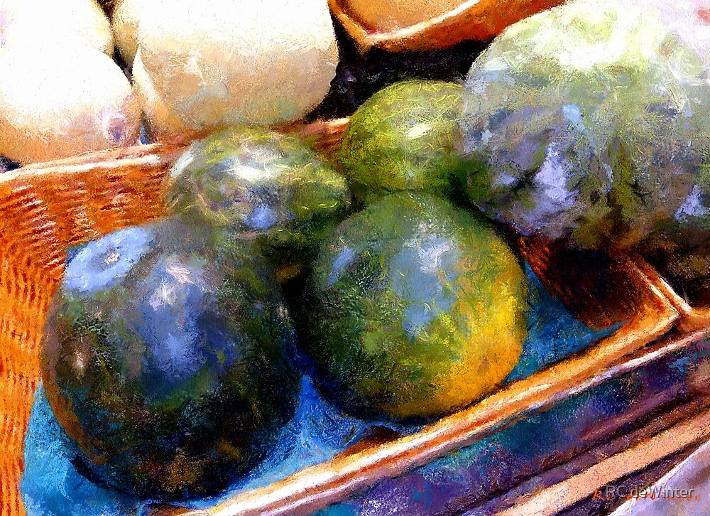 Ripe and Luscious Melons by RC deWinter