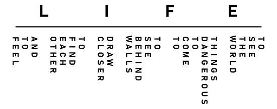 """Secret Life of Walter Mitty - LIFE's Motto (Logo Version ..."