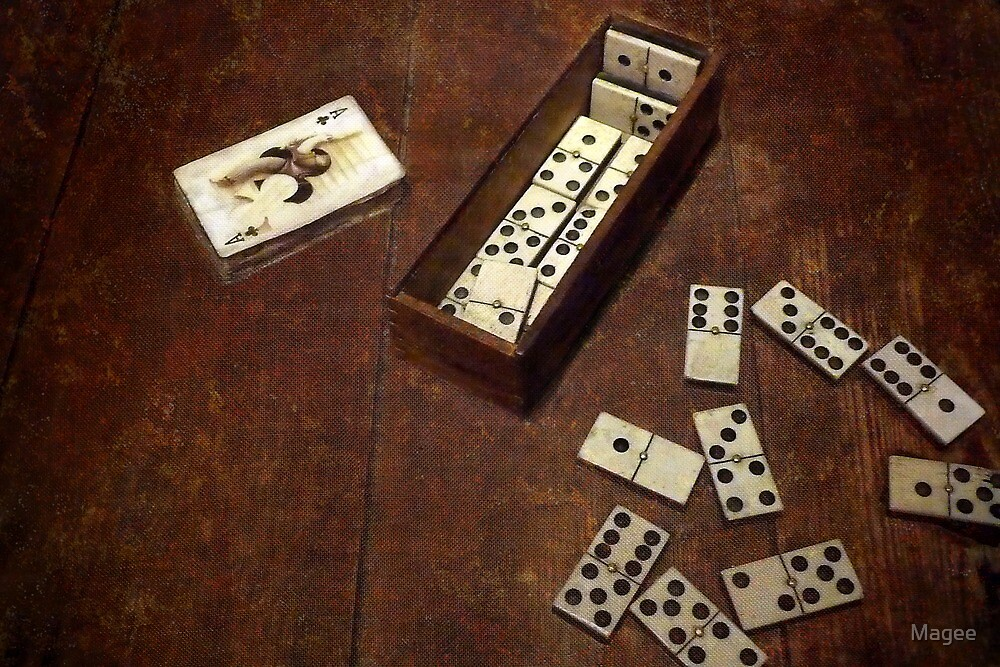 A Domino Effect by Magee