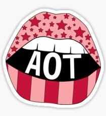 AOT Lips Sticker