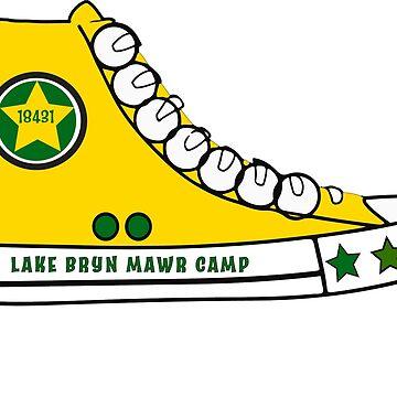 Bryn Mawr Camp Stickers by dddesignsnj