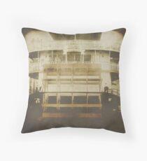 Steamer Natchez Throw Pillow