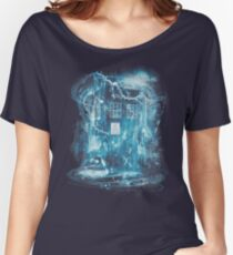 Time and space storm Women's Relaxed Fit T-Shirt