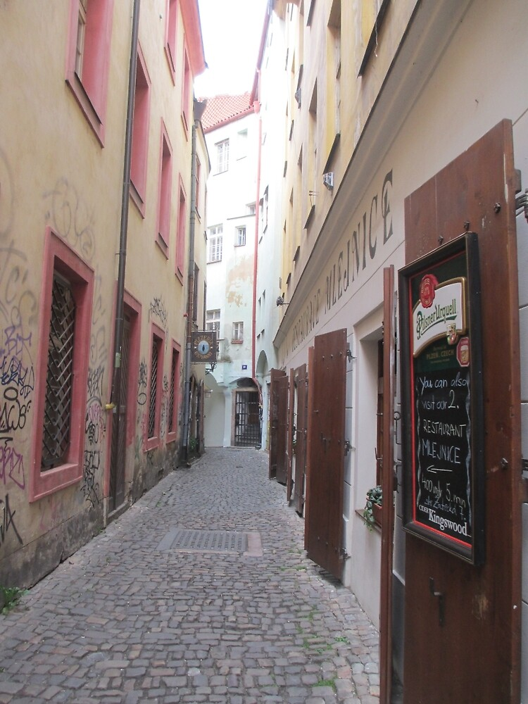 Street in Prague by maddipetro
