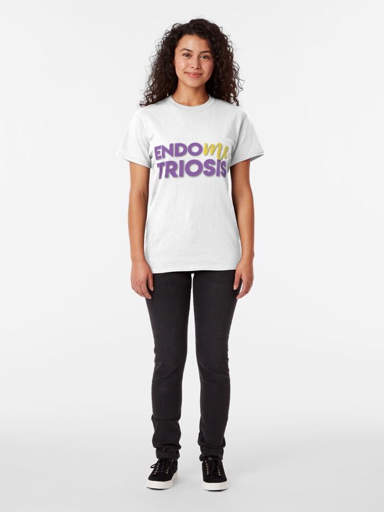Alternate view of EndoMEtriosis Awareness Classic T-Shirt