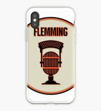 SF Giants Announcer Dave Flemming Pin iPhone Case 66993176c6