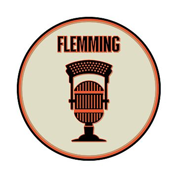 SF Giants Announcer Dave Flemming Pin by zeech