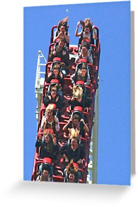 Spot the £5.00 Note - Stealth - Thorpe Park by Colin  Williams Photography