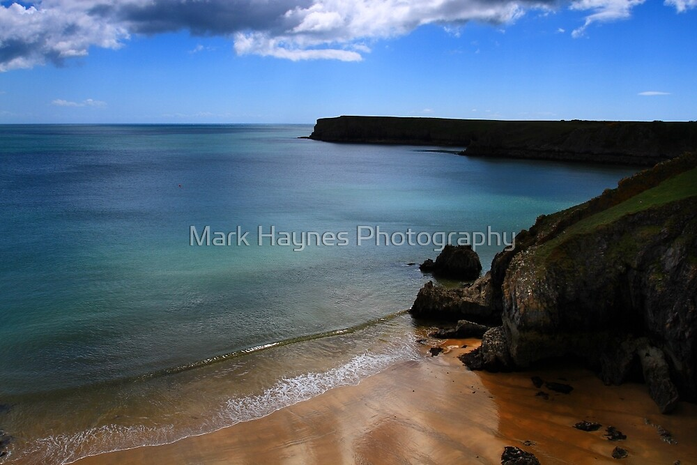 Barafundle - A Less Seen View. by Mark Haynes Photography