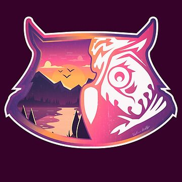 Owl Head | Sunset Mountains by wfultzdesigns