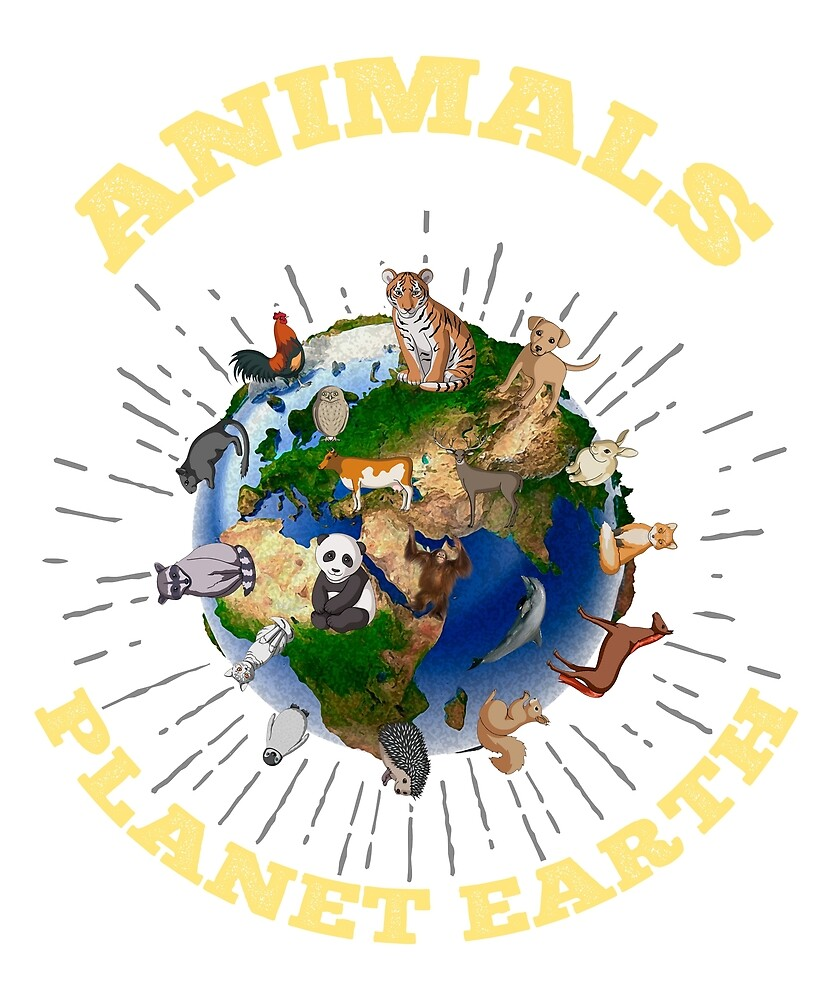 Animals - Planet Earth by Fjfichman