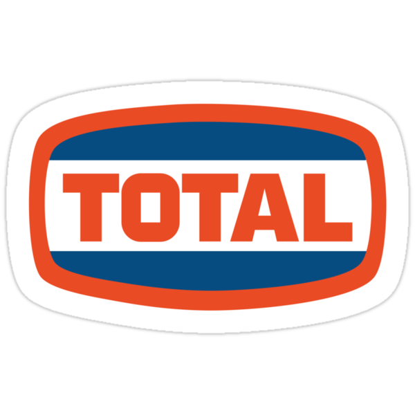 """""""Vintage Total logo"""" Stickers by TimVS 