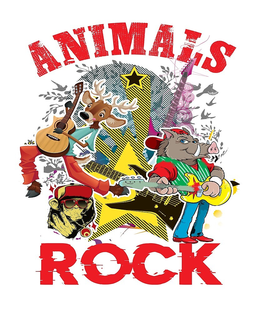 Animals Rock by Fjfichman