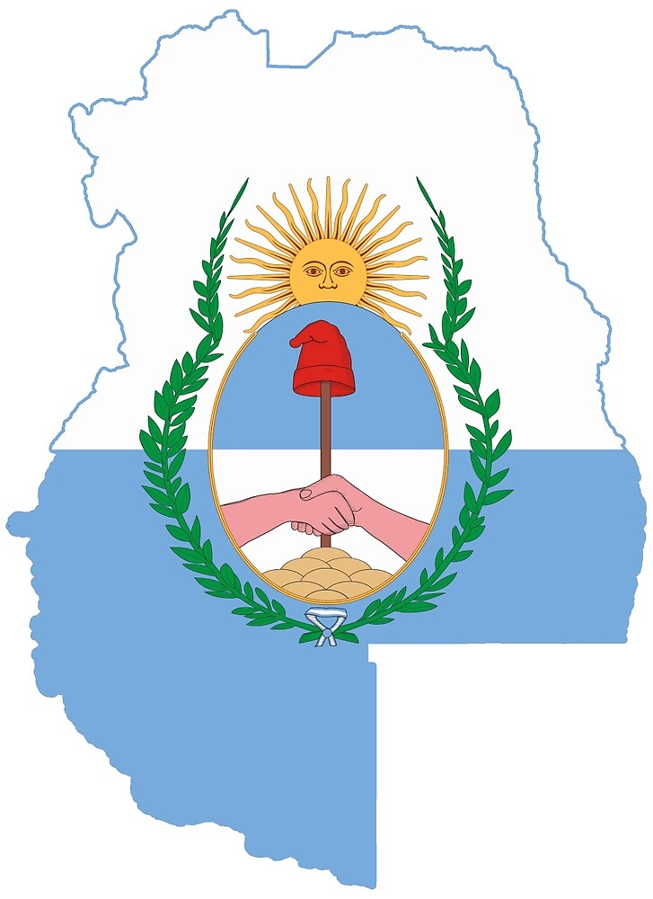 Flag Map of the Mendoza Province by abbeyz71