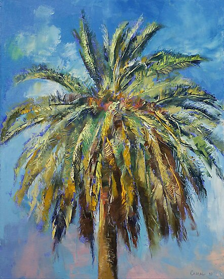 Canary Island Date Palm by Michael Creese