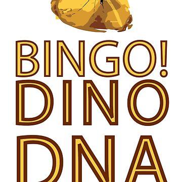 BINGO! DINO DNA by lyonandrewj