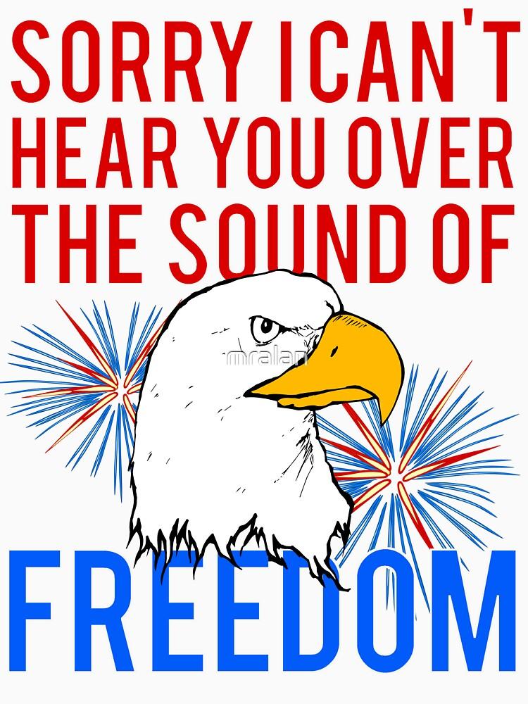 My Freedom America Guns Bald Eagles Fireworks by mralan