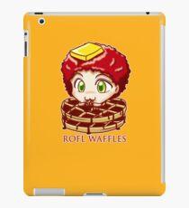 ROFL WAFFLES iPad Case/Skin