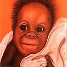 Baby Orangutan by Margaret Sanderson